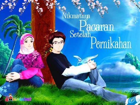 Animasi Pernikahan Islami by Gambar Kartun Muslim Muslimah Islami Gambar Kartun