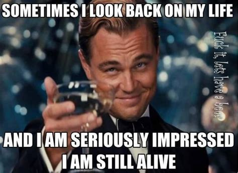 Life Meme - sometimes i look back on my life meme