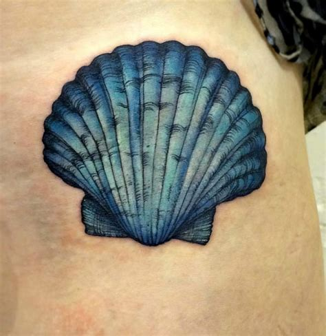 small seashell tattoo 45 beautiful seashell tattoos you ll tattooblend