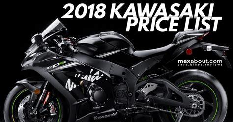 Kawasaki Price by Kawasaki Bikes Price List 2018 List Of Bikes With Price