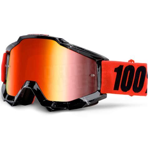 100 percent motocross goggles 100 accuri goggles inferno jr mirror lens