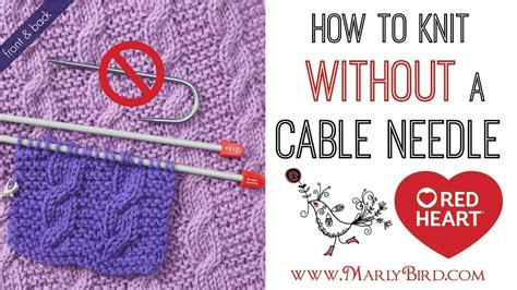 how to start a knitting needle beginner basics knitting how to cable without a cable