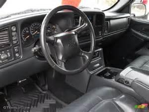 graphite gray interior 2002 chevrolet silverado 1500 lt