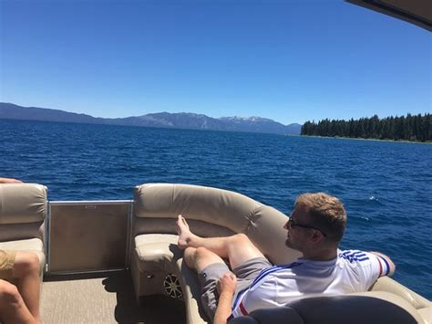 swa tahoe boat rentals our 24 luxury bennington tritoon pontoon boat