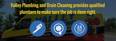 valley plumbing and drain cleaning west ut
