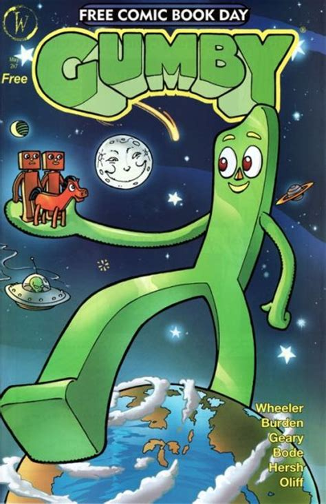 free comics gumby free comic book day special on collectorz