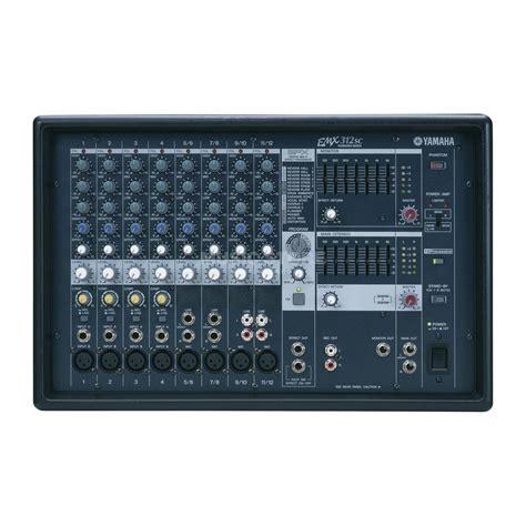 Power Mixer Yamaha Emx yamaha emx 312sc powermixer 2x 300watt