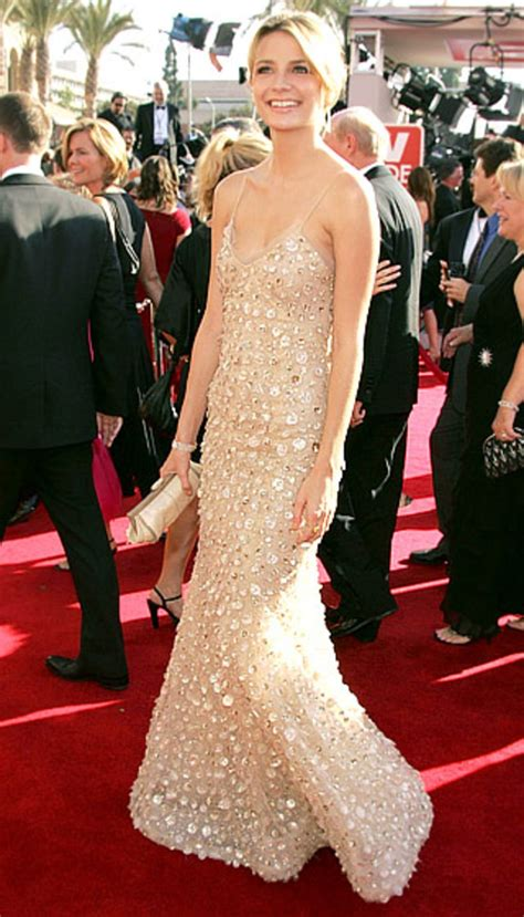Mischa Takes A From The Keds Promotion by Mischa Barton Emmy Awards Carpet Fashion See The