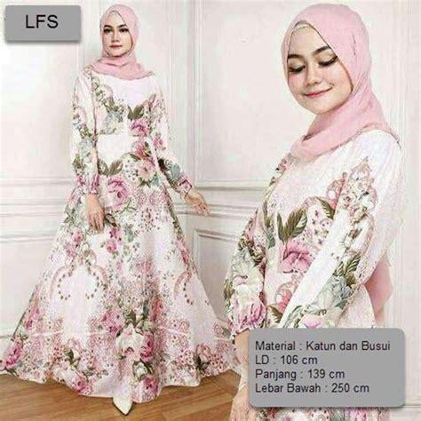 Dress Motif Bunga Busui informasi harga jual gaun gaun pesta termurah dan