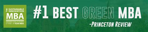 Top Green Mba Programs by The Sustainable Innovation Mba Grossman School Of