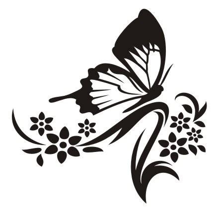 naklejka na sciane motylkowa fantazja  naklejkolandia