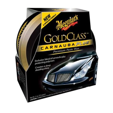 Meguiar's Gold Class Carnauba Plus Car Wax   9181629   Pep