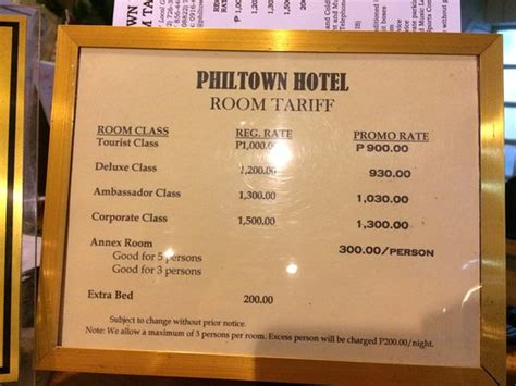 Room Rate Philtown Hotel 2017 Reviews Photos Cagayan De Oro