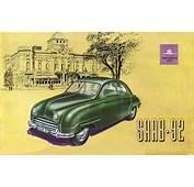 Saab 92 Brochure