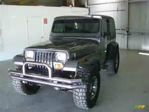 Jeep Laredo 4x4 1990 Charcoal Gray Metallic Jeep Wrangler Laredo 4x4