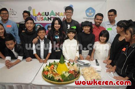 film anak nusantara foto soft launching album lagu anak nusantara foto 1