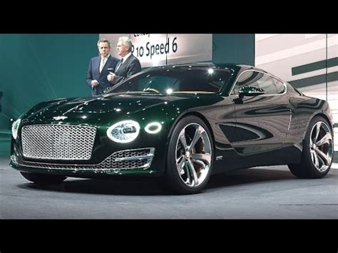 bentley concept car 2016 bentley hybrid 2016 tv commercial bentley exp 10