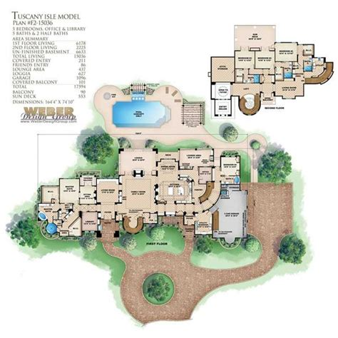 tuscan home floor plans tuscan house plans home design wdgf2 15036