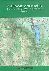wallowa lake oregon map wallowa mountains eagle cap wilderness oregon map in the