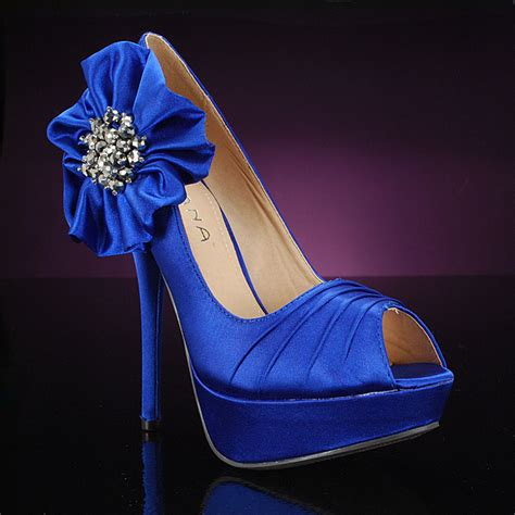 Blue Wedding Heels by Blue Wedding Shoes Trend The Wedding Shoe Style