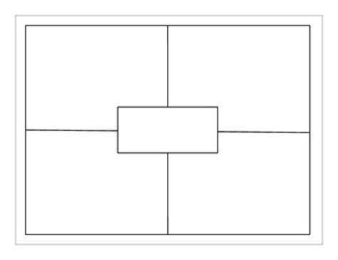free four square template to use for all subject areas