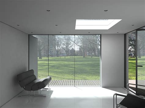 Home Design Architects glass box modular house extension nicolas tye architects