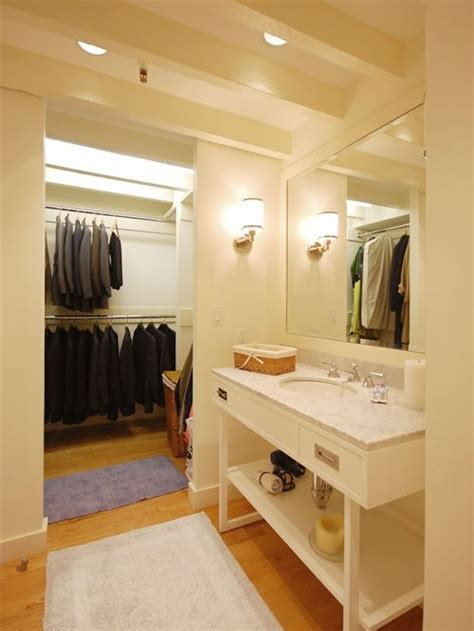 closet inside bathroom ideas pictures remodel and decor