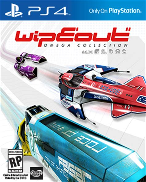 Kaset Ps4 Wipeout Omega Collection wipeout omega collection ps4 playstation