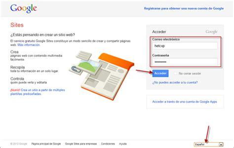 website tutorial google sites curso gratis de google sites aulaclic 1 creando el sitio