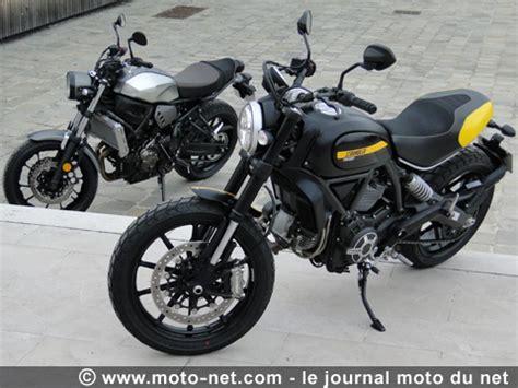 Autoscout Yamaha Mt 07 by Duel Scrambler Vs Xsr700 Du Rififi En Entr 233 E De Gamme