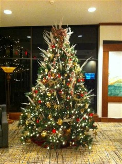 beautiful christmas tree in the foyer picture of