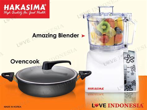 Blender Hakasima alat masak modern dan lebih mudah persembahan dari