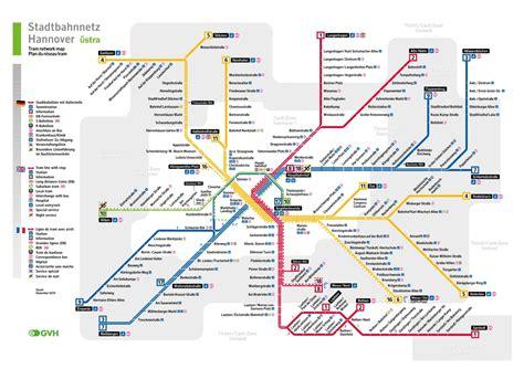 Plano Light Ticket by Stadtbahn Hannover U Bahn Karte Deutschland