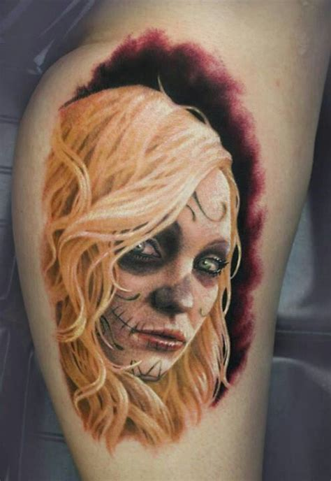 kate hudson tattoos my newest addition day of the dead kate hudson by arlo
