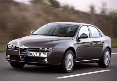 alfa romeo sedans alfa romeo 159 sedan 2005 2008 reviews technical data