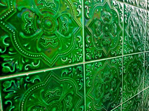 green patterned tiles green tiles luscious lime pinterest