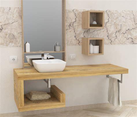 mensole legno grezzo mensola per lavabo mobili bagno legno massello con mensole