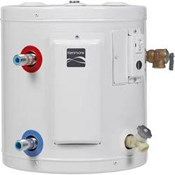 Electric Water Heater Kenmore 31605 10 Gal 6 Year Compact Electric Water