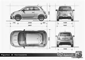 Dimensions Of Fiat 500 Abarth 695 Biposto Debuts Fiat 500 Usa