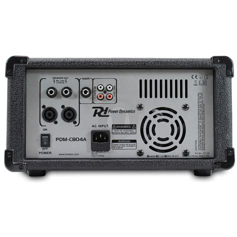 Audio Mixer Power power dynamics pa lifier 4 channel stereo mixer