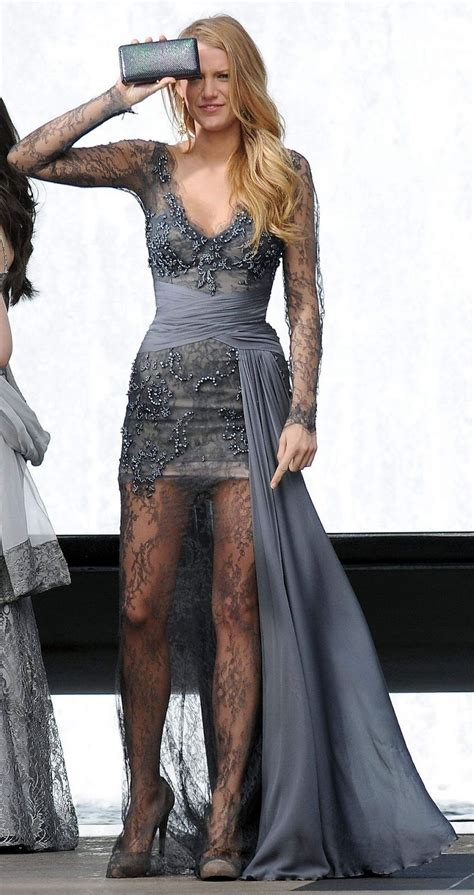 She Said It Haute Gossip 3 by Gossip Serena Der Woodsen In Grey Haute Couture