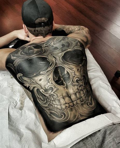 tattoo 3d full back 155 best 3d tattoos designs for men women 2018