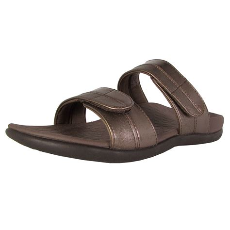 orthaheel sandals on sale vionic with orthaheel technology womens strappy sandals ebay