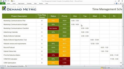 time management using excel is wrong isn t it
