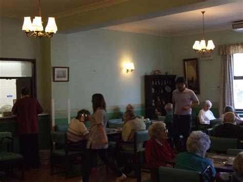 Communal Dining Room by Communal Areas Charnley House Care Home In Tameside