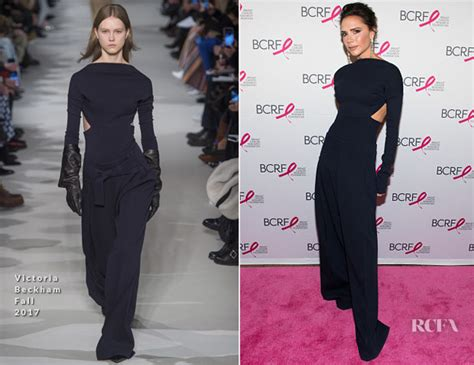 victoria beckham photos photos 2017 hot pink party in victoria beckham red carpet fashion awards
