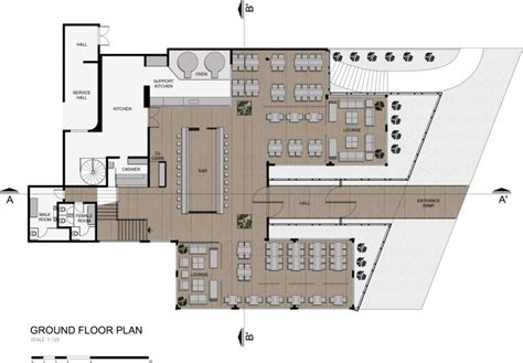 plan architecturale d un restaurant home design and taboo 261110 08 mimarlar pinterest restaurant plan