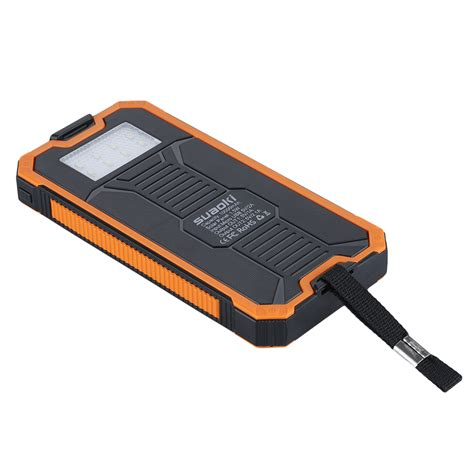 Charger 2usb 2 1a For Android by 10000mah Solar Panel Charger Battery 2usb For Phone Iphone