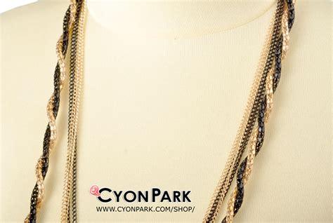 Kalung Mutiara Swaovski Panjang Fashion koleksi kalung panjang butik shop tas pesta belt