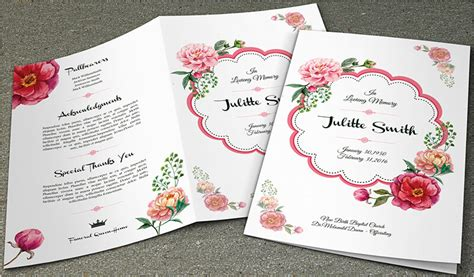 funeral leaflet template free 37 funeral brochure templates free word psd pdf exle